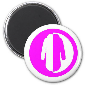 Parka Power Plus pink logo Magnets