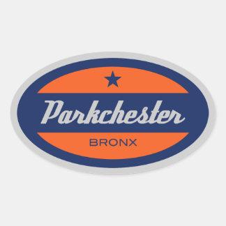 Parkchester Oval Sticker