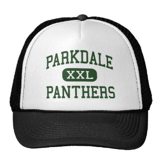 Parkdale - Panthers - High - Riverdale Maryland Trucker Hat