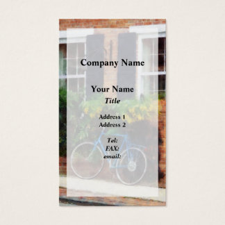 Parked Bicycle Business Card