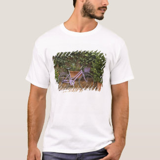 Parked bicycle, Pienza, Italy, Tuscany T-Shirt