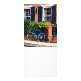 Parked Bicycle Personalized Rack Card