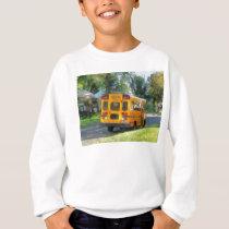 Parked School Bus Sweatshirt