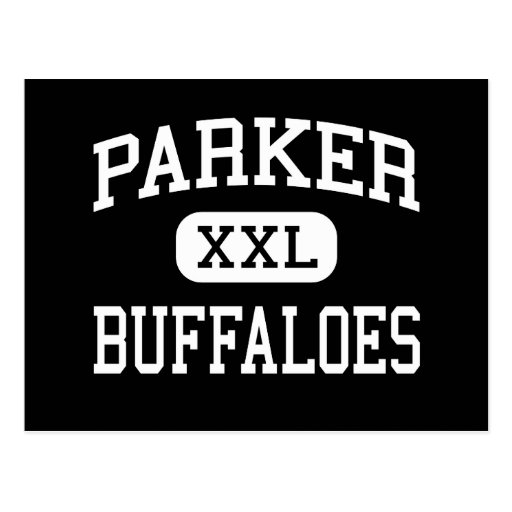 Parker - búfalos - centro - McAlester Oklahoma Tarjetas Postales