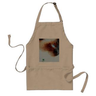 parker cat adult apron
