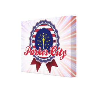 Parker City, IN Canvas Print