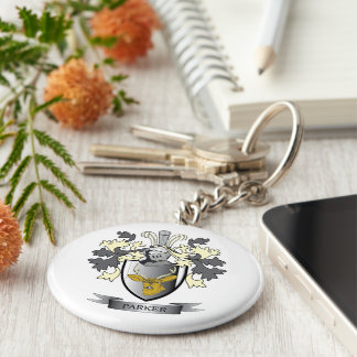 Parker Coat of Arms Keychain