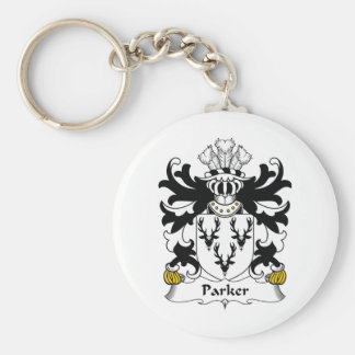 Parker Family Crest Keychain