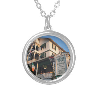 Parker House Sea Girt, NJ Silver Plated Necklace