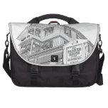 Parker House Sketch - Jersey Shore Commuter Bag