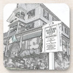 Parker House Sketch - Jersey Shore Drink Coasters