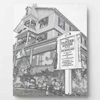 Parker House Sketch - Jersey Shore Photo Plaque