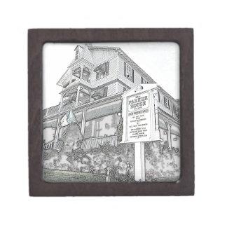 Parker House Sketch - Jersey Shore Premium Keepsake Boxes