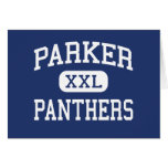 Parker Panthers Middle Greenville Greeting Cards
