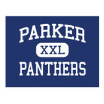 Parker Panthers Middle Greenville Postcard