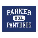 Parker Panthers Middle Greenville Postcard