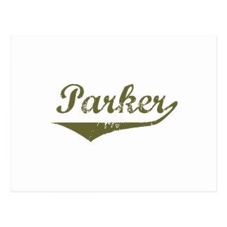 Parker Revolution t shirts Postcard