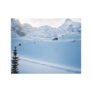 Parker Ridge Banff Park Icefields Alberta Canada Canvas Print