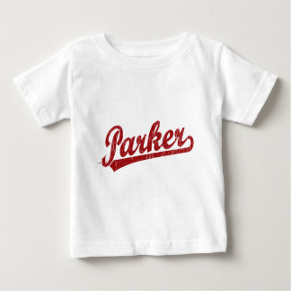 Parker script logo in red baby T-Shirt