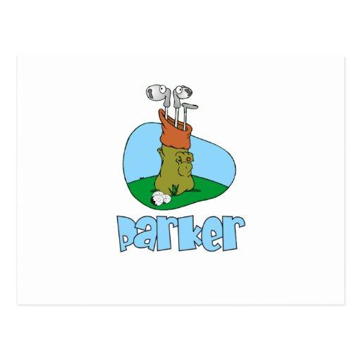 Parker Tarjeta Postal