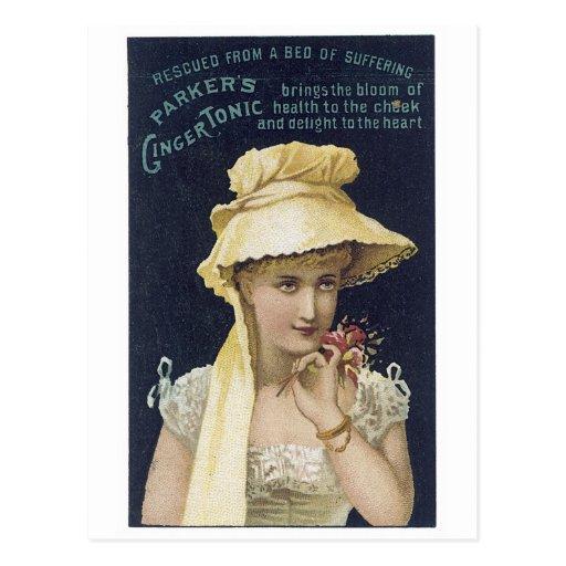 Parker's Ginger Tonic Postcards