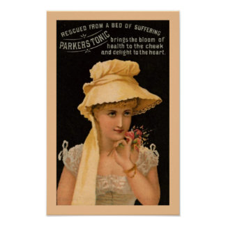Parkers Tonic Medicine Poster