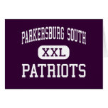 Parkersburg South - Patriots - High - Parkersburg Card