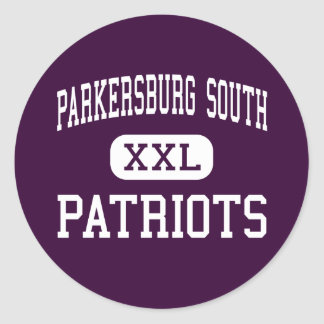 Parkersburg South - Patriots - High - Parkersburg Classic Round Sticker