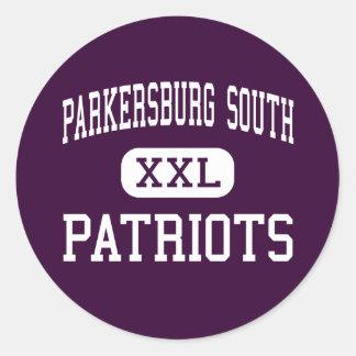 Parkersburg South - Patriots - High - Parkersburg Classic Round Sticker