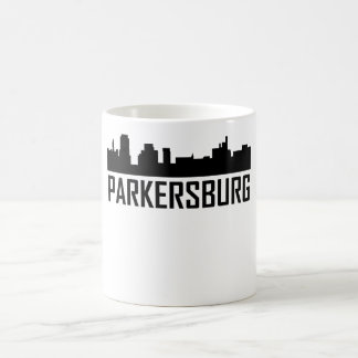 Parkersburg West Virginia City Skyline Coffee Mug