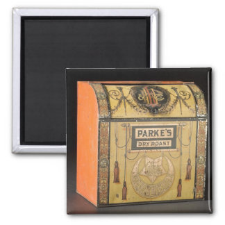 Parke's Retail Store Bin 2 Inch Square Magnet