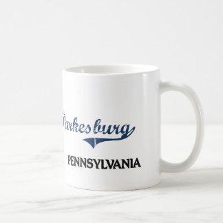 Parkesburg Pennsylvania City Classic Classic White Coffee Mug