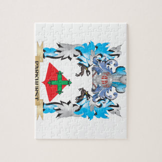 Parkhurst Coat of Arms - Family Crest Puzzle