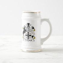Parkhurst Family Crest Beer Stein