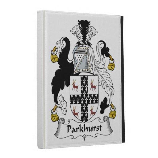 Parkhurst Family Crest iPad Folio Covers