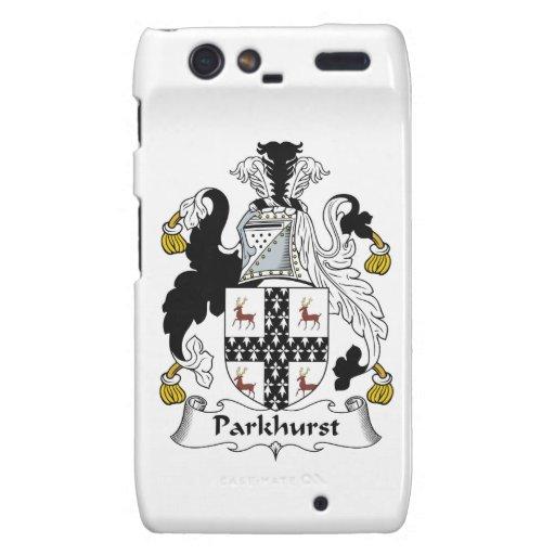 Parkhurst Family Crest Motorola Droid RAZR Case