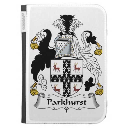 Parkhurst Family Crest Cases For The Kindle