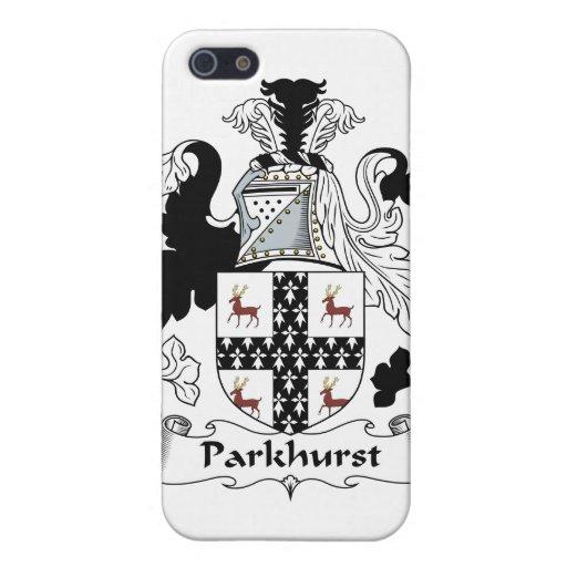 Parkhurst Family Crest Cases For iPhone 5