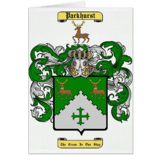 Parkhurst Tarjeta De Felicitación