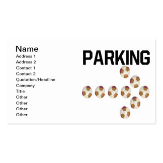 Parking Double-Sided Standard Business Cards (Pack Of 100)