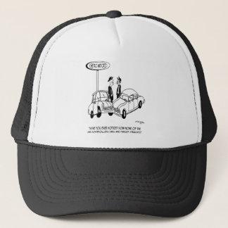 Parking Cartoon 5133 Trucker Hat