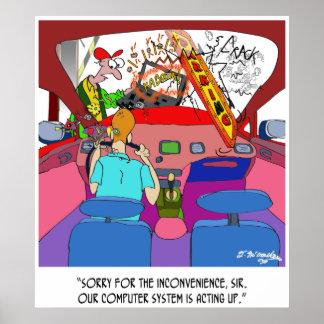 Parking Cartoon 8849 Poster
