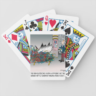 Parking Cartoon 8973 Bicycle Playing Cards