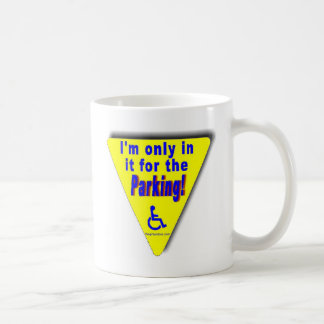 parking coffee mug