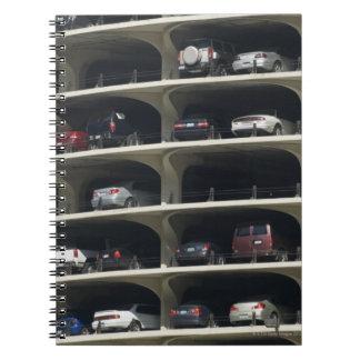 Parking garage Marina City Chicago Illinois USA Notebook
