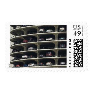Parking garage Marina City Chicago Illinois USA Postage