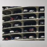 Parking garage Marina City Chicago Illinois USA Posters