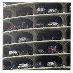 Parking garage Marina City Chicago Illinois USA Tiles