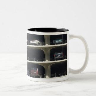 Parking garage Marina City Chicago Illinois USA Two-Tone Coffee Mug