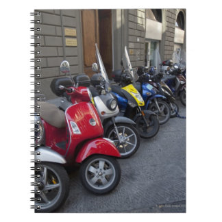 Parking is extremelly hard to find, Scooters are Notebook